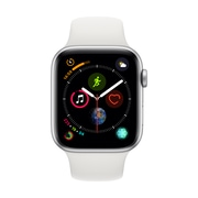 [PRESALE] Apple Watch Series 4, 40mm, GPS, Silver Aluminium Case with White Sport Band
