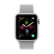 [PRESALE] Apple Watch Series 4, 44mm, GPS + Cellular, Silver Aluminium Case with Seashell Sport Loop
