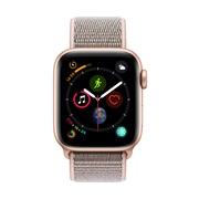 [PRESALE] Apple Watch Series 4, 40mm, GPS, Gold Aluminium Case with Pink Sand Sport Loop