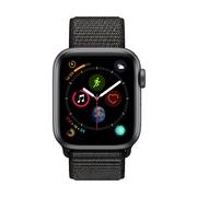 [PRESALE] Apple Watch Series 4, 40mm, GPS + Cellular, Space Grey Aluminium Case with Black Sport Loop