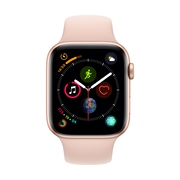 [PRESALE] Apple Watch Series 4, 40mm, GPS + Cellular, Gold Aluminium Case with Pink Sand Sport Band