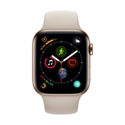 [PRESALE] Apple Watch Series 4, 44mm, GPS + Cellular, Gold Stainless Steel Case with Stone Sport Band