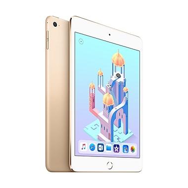 Apple - iPad mini 4, 7,9 po, puce A8, Wi-Fi, 128 Go, or