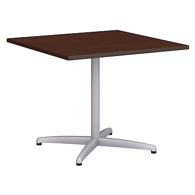 "Bush Conference Tables 36"" Square Conference Table Kit - Metal Base"