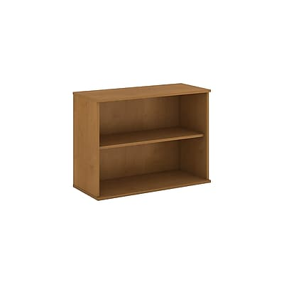 Bush Business Furniture 30H 2 Shelf Bookcase, Natural Cherry (BK3036NCFA)