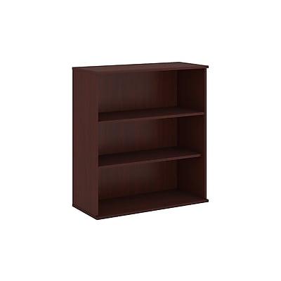 Bush Business Furniture 48H 3 Shelf Bookcase, Harvest Cherry (BK4836CS)