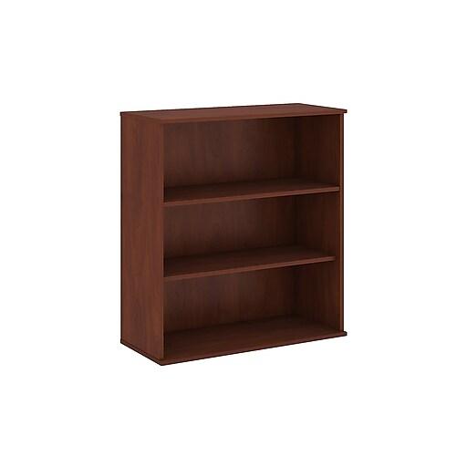 Bush Business Furniture 48H 3 Shelf Bookcase, Hansen Cherry (BK4836HCFA)