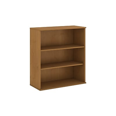 Bush Business Furniture 48H 3 Shelf Bookcase, Natural Cherry (BK4836NCFA)