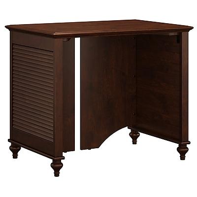 kathy ireland® Office by Bush Furniture Volcano Dusk 34W Desk, Coastal Cherry (ALA001CC)