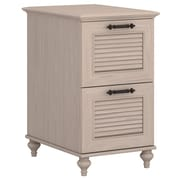 kathy ireland® Home by Bush Furniture Volcano Dusk 2 Drawer File Cabinet, Driftwood Dreams (ALA009DD)