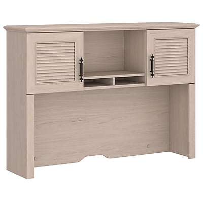 kathy ireland® Office by Bush Furniture Volcano Dusk 51W Hutch, Driftwood Dreams (KI30122-03)