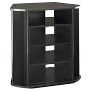 Bush Visions Tall Corner TV Stand Black
