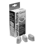 Capresso Charcoal Filters, 3/Pack, Black