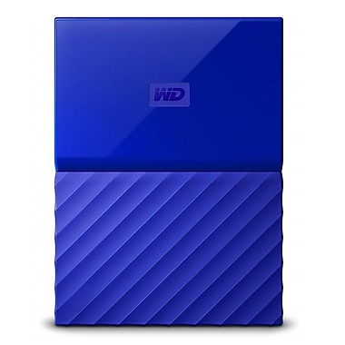 Western Digital 2TB My Passport USB 3.0 External Hard Drive, Blue (WDBS4B0020BBL-WESN)