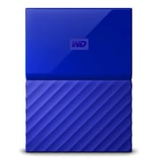 Western Digital® - Disque dur externe My Passport USB 3.0, 2 To, bleu (WDBS4B0020BBL-WESN)