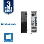 Lenovo Refurbished M81-i31 SFF Desktop Computer, 3.1 GHz Intel Core i3-2100, 250 GB HDD, 4 GB DDR3, Windows 10 Professional
