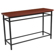 Flash Furniture Granada Hills Collection Norway Cherry Inlaid Wood Grain Finish Console Table (NANJH1794ST)