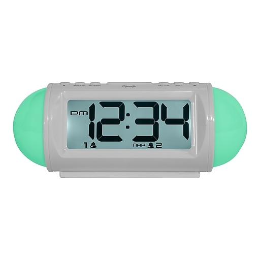 Equity By La Crosse 31112 Mood Light Led Alarm Clock With