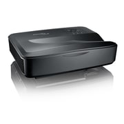 Optoma Ultra Short Throw 1080p Laser Multimedia Projector, Black (ZH420UST-B)