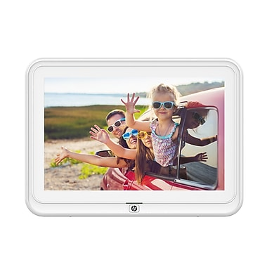 HP 10.1 inch WiFi Digital Photo Frame, White (HP-DF1050TW-WH) | Staples