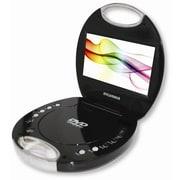 "Sylvania 7"" Portable DVD Player with Chrome Handle"