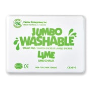 Center Enterprises Jumbo Washable Stamp Pad, Lime Green Ink (CE-5510)