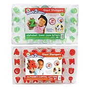 Ready2Learn™ Giant Stampers, Alphabet Letters Lowercase & Uppercase, 56/pkg
