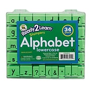 Manuscript Alphabet Stamp Set 1 Lowercase, 34/ST, 2 ST/BD