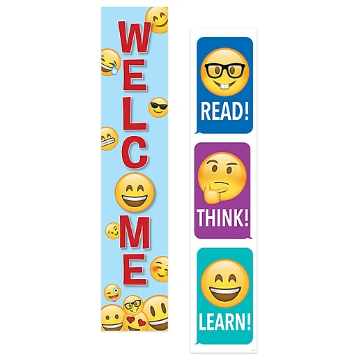 Creative Teaching Press Emoji Fun Banner (2-sided), (CTP8152)