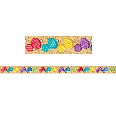 Creative Teaching Press CTP8403, Bold & Bright Push Pins Magnetic Decor Strips-Small