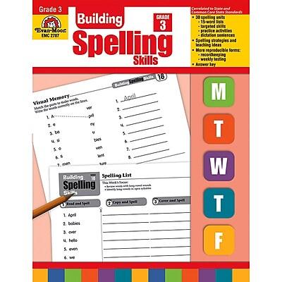 Evan-Moor® Building Spelling Skills, Grade 3