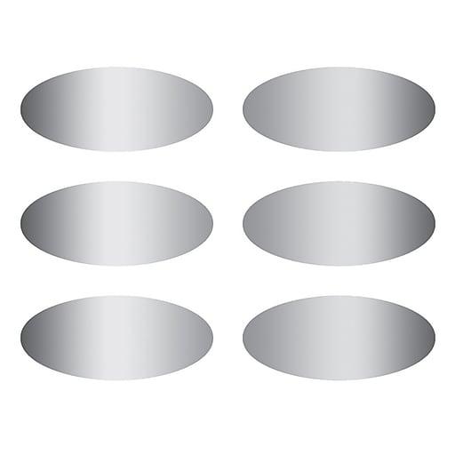 Eureka® Ovals Scratch Off Stickers, 180 Per Pack, 5 Packs (EU-627002)