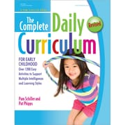 Gryphon House® The Complete Daily Curriculum For Early Childhood, Revised