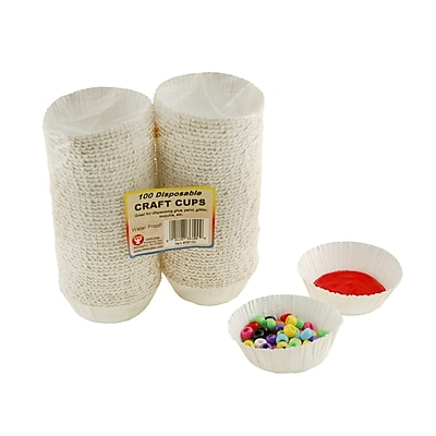Hygloss Craft Accessories, Craft Cups, 100 Cups