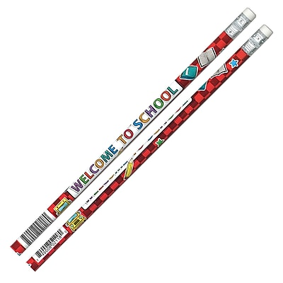 Moon Products Pencils by the Gross, Welcome To School!