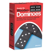 Pressman® Toys Early Learning Game, Double Six Wooden Dominoes (PRE152112)