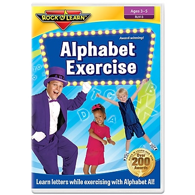 Rock 'N Learn® Alphabet Exercise DVD