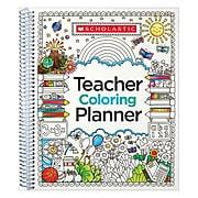 Scholastic Teacher Coloring Planner (SC-809292)