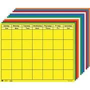 "Shapes Etc Calendars, Horizontal Calendar Set, 28x22"""
