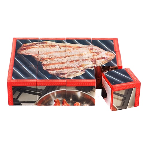 """Stages Learning Materials® 1 1/2"""" Protein Cube Puzzle"""