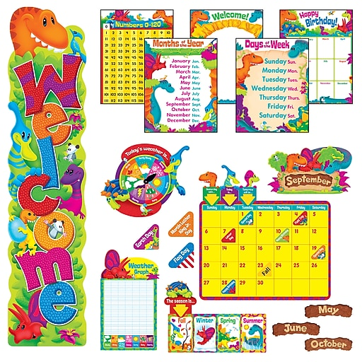 Trend Dino-Mite Pals® Everyday Room Décor Super Packs, 112/Set (T-51004)