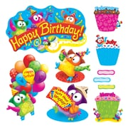 Trend Owl-Stars!® Birthday Bulletin Board Set, 57 Pieces (T-8366)