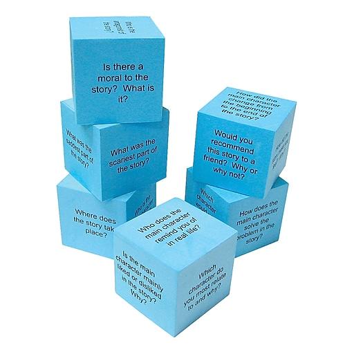 Teacher Created Resources Foam Reading Comprehension Cubes, Grades K - 3