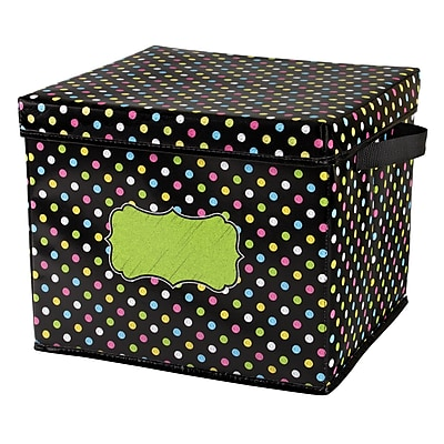 Teacher Created Resources Chalkboard Brights Storage Bins - Box (TCR20766)