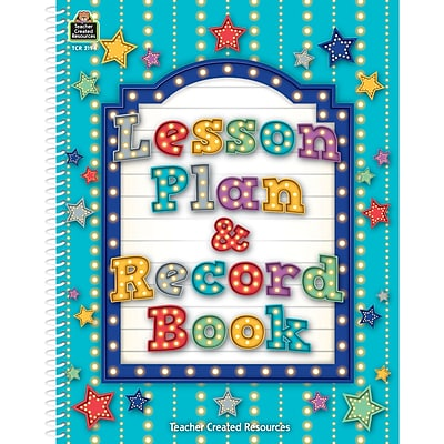 Teacher Created Resources Marquee Lesson Plan & Record Book (TCR2194)