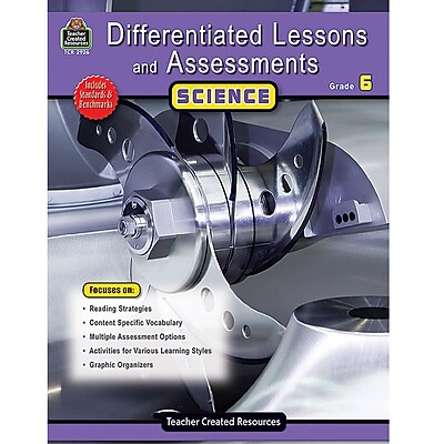Differentiated Lessons and Assessments, Science, Grade 6