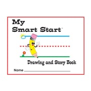 "Teacher Created Resources Grades K, 1 Drawing/Story Book, Printed, Letter 8.50"" x 11"", White Paper, 1Each"
