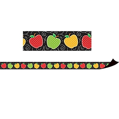 Teacher Created Resources Dotty Apples Magnetic Border (TCR77248)