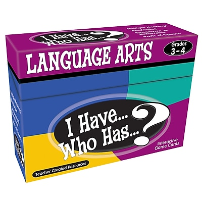 I Have, Who Has Language Arts Game, Grades 3-4