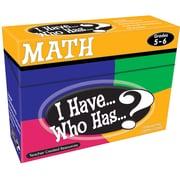 I Have...Who Has...? Math, Grades 5-6